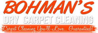 Bohman's Dry Carpet Cleaning | Russia Ohio Logo